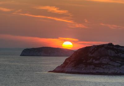 Sunset from Ramsøy, Askøy