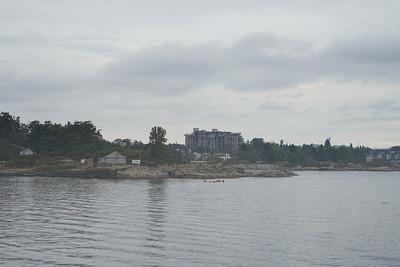 Arrival in Victoria, British Columbia