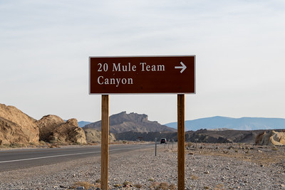 20 Mule Team Canyon