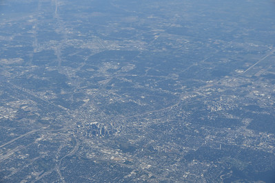Houston, Texas; Airborne - Atlanta to San Antonio