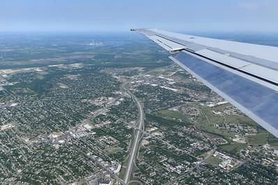 Arriving San Antonio