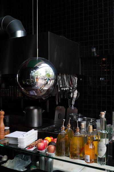 Netherlands, Amsterdam: Restaurant.