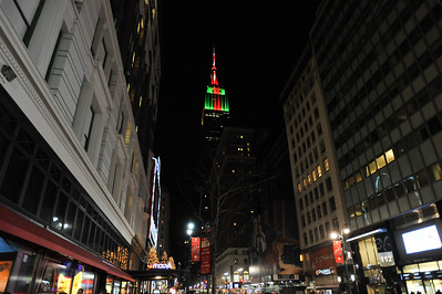 Macy's and Empire State Building