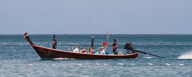 Longtail, Bang Tao Beach