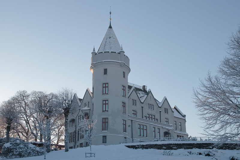 Gamlehaugen in Winter