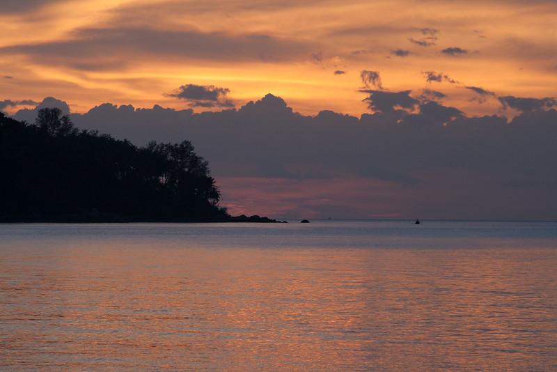 Twilight Scene, Bang Tao Beach