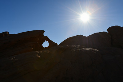 Valley of Fire State Park - Arch Rock