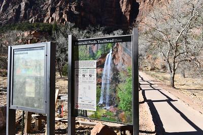 Zion National Park - Emeral Pools Trailhead