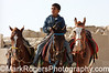 Egyptian boy and horses<br /> Giza Plateau<br /> Cairo, Egypt