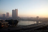Cairo at Dawn overlooking the Nile<br /> Egypt