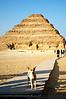 Step Pyramid<br /> Saqqara, Egypt