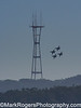 Blue Angles Round Sutro Tower<br /> San Francisco