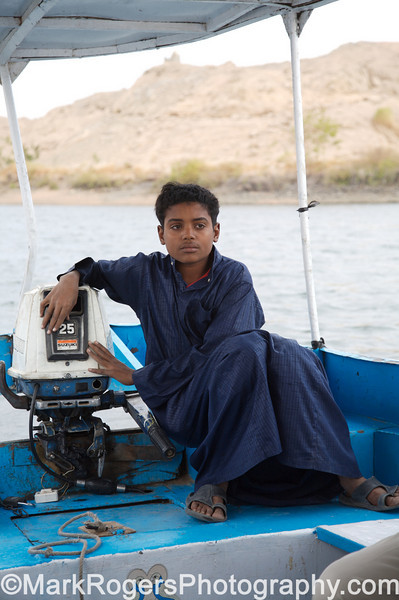 Water Taxi Motorman<br /> Aswan