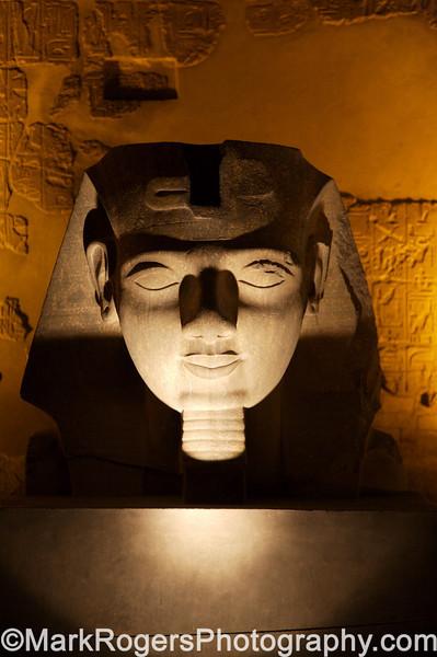 Statue of Ramses II<br /> Luxor Temple