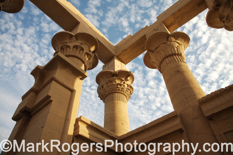 Gate of Hadrian - Temple of Philae<br /> Aswan, Egypt