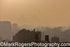 Cairo skyline with Pyramids
