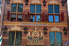 Face of the Waag building. Built in 1635.