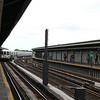 Subway in Rockaway, on my way to JFK Airport - 9/22/12