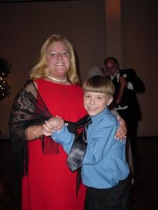 Connor &  Mom dancing