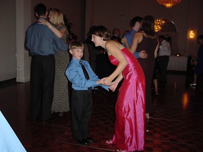 Connor dancing with Ann