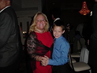 Hayden dancing with Mom.