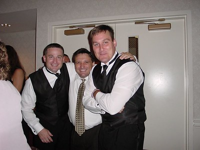 DEFINATELY....caught in the act with his two...younger and more alcohol tollerant nephews, Chris & Danny
