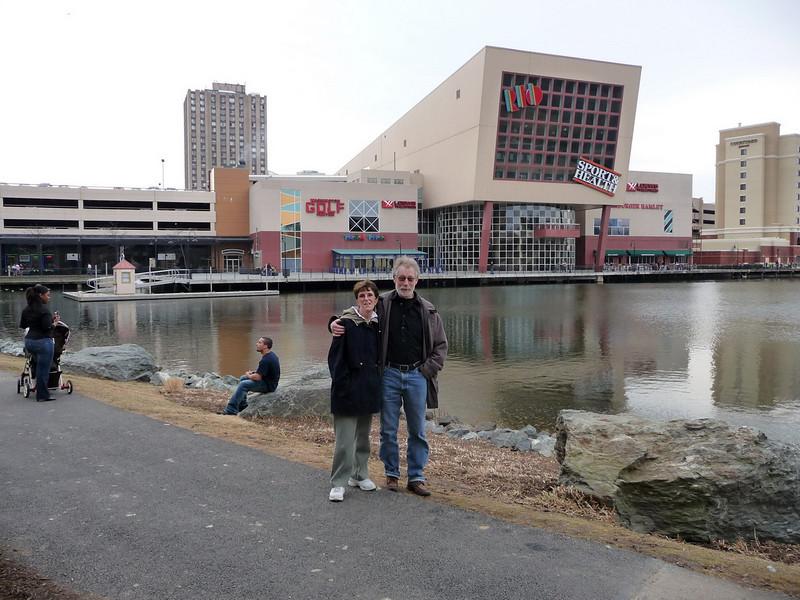 Rose and Jaep at Rio in Gaithersburg, Maryland.