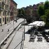 Near lock modified by Leonarda da Vinci in the center of Milan.