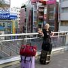 Gely in downtown Tachikawa.
