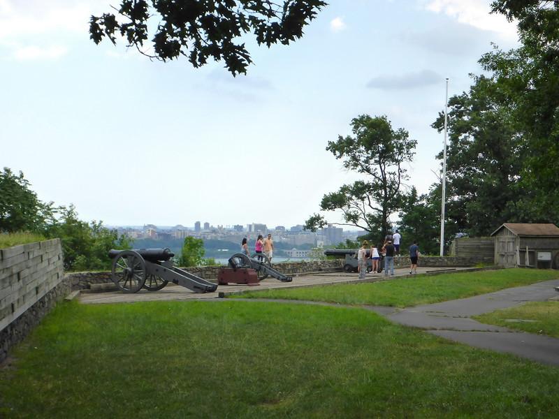 Fort Lee Historical Park.