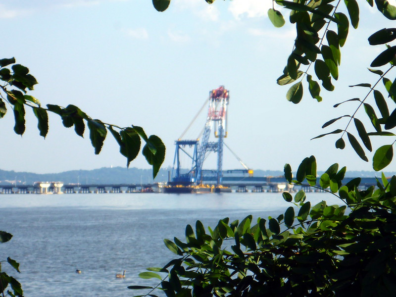 The Tappan Zee Bridge (7/28/15).