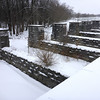 Richmond Aqueduct (Seneca River Aqueduct) of the enlarged Erie Canal in Montezuma.