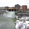 High Falls in Rochester, NY.