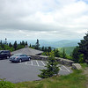 Parking lot on top of Mt. Greylock.