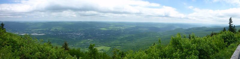 View from Mt. Greylock.