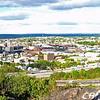 Panoramic view north (Paterson) from Garrett Mtn.