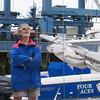 Jakob in the Petersen boatyard.