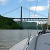 Approaching the Bear Mt Bridge.