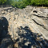 Glacial grooves on Kelley's Island, OH - 8/8/16