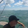 Steve on Lake Erie - 8/8/16
