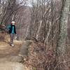 Trail to Dark Hollow Falls in Shenandoah National Park.
