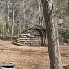Indian village replica at Natural Bridge.