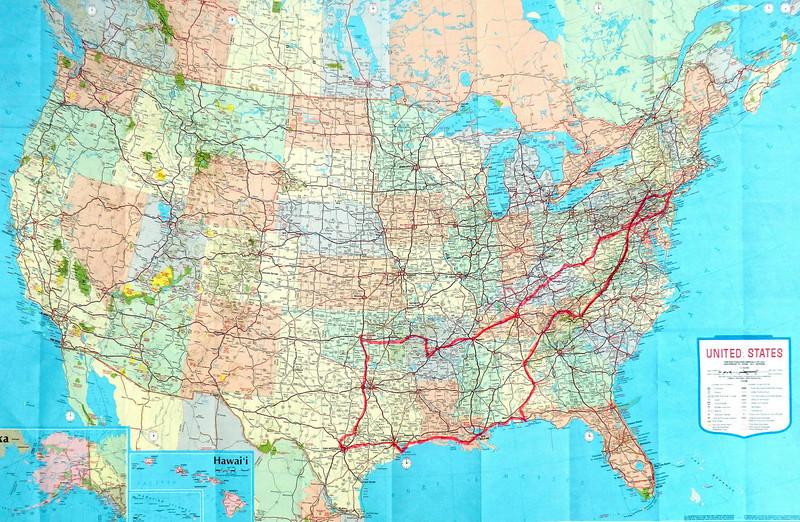 map1 spring trip 2012