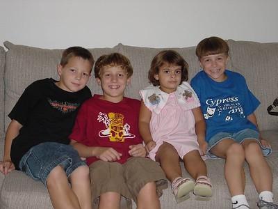Hayden, Harrison, Pamela, & Connor