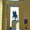 Albert I monument in Nieuwpoort.