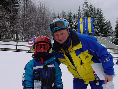 Connor with Instructor