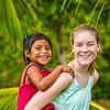 IZE Student and Maya Children