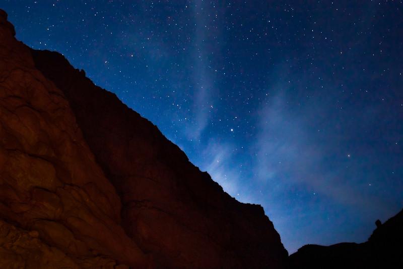 Thousands of Stars Light up the Night Sky over Egypt in the Desert