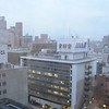 view from my Hotel Room in Osaka