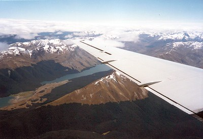 NZ Alps flightseeing